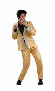 Gold Elvis Costume