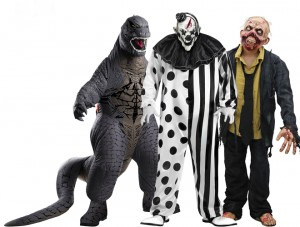 2014 Scary Halloween Costumes for Men
