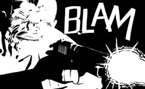 Blam Cartoon art