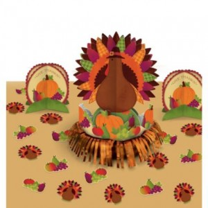 complete Thanksgiving Table Decorating Kit