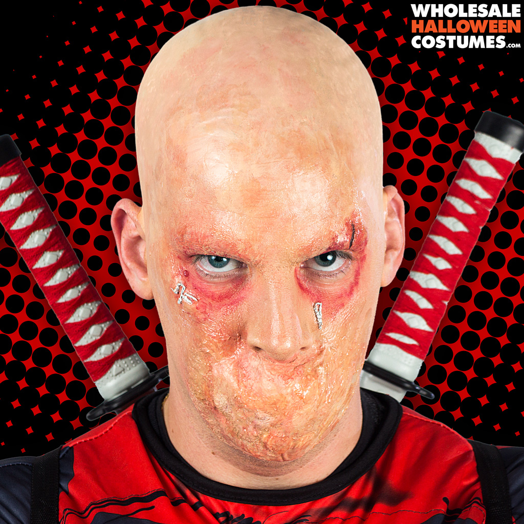 Deadpool Makeup Tutorial | Wholesale Halloween Costumes Blog