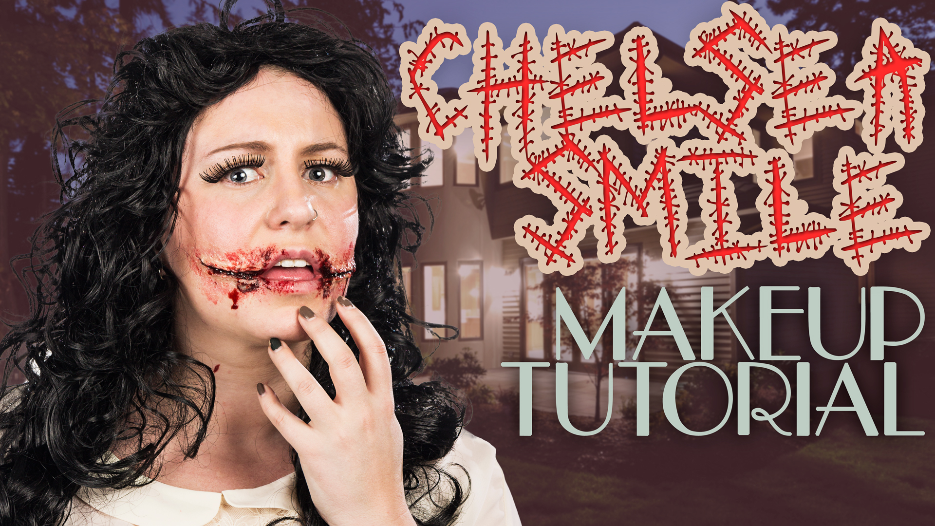 Chelsea Smile Makeup Tutorial | Wholesale Halloween Costumes Blog