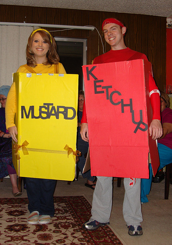 Condiments Costume