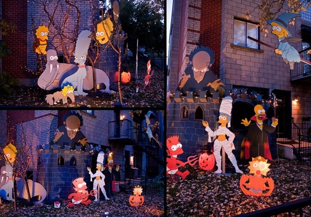 Simpsons TreeHouse of Horror Decorations