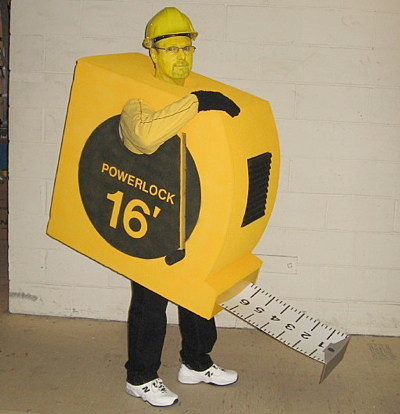Measuring Tape Costume