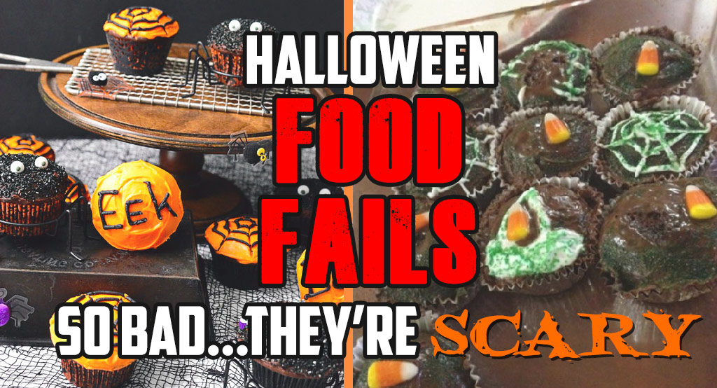 Halloween Food Fails So Bad They're Scary