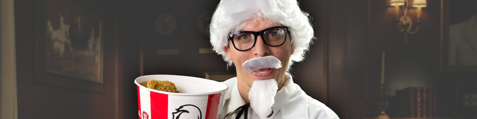 DIY Colonel Sanders Costume