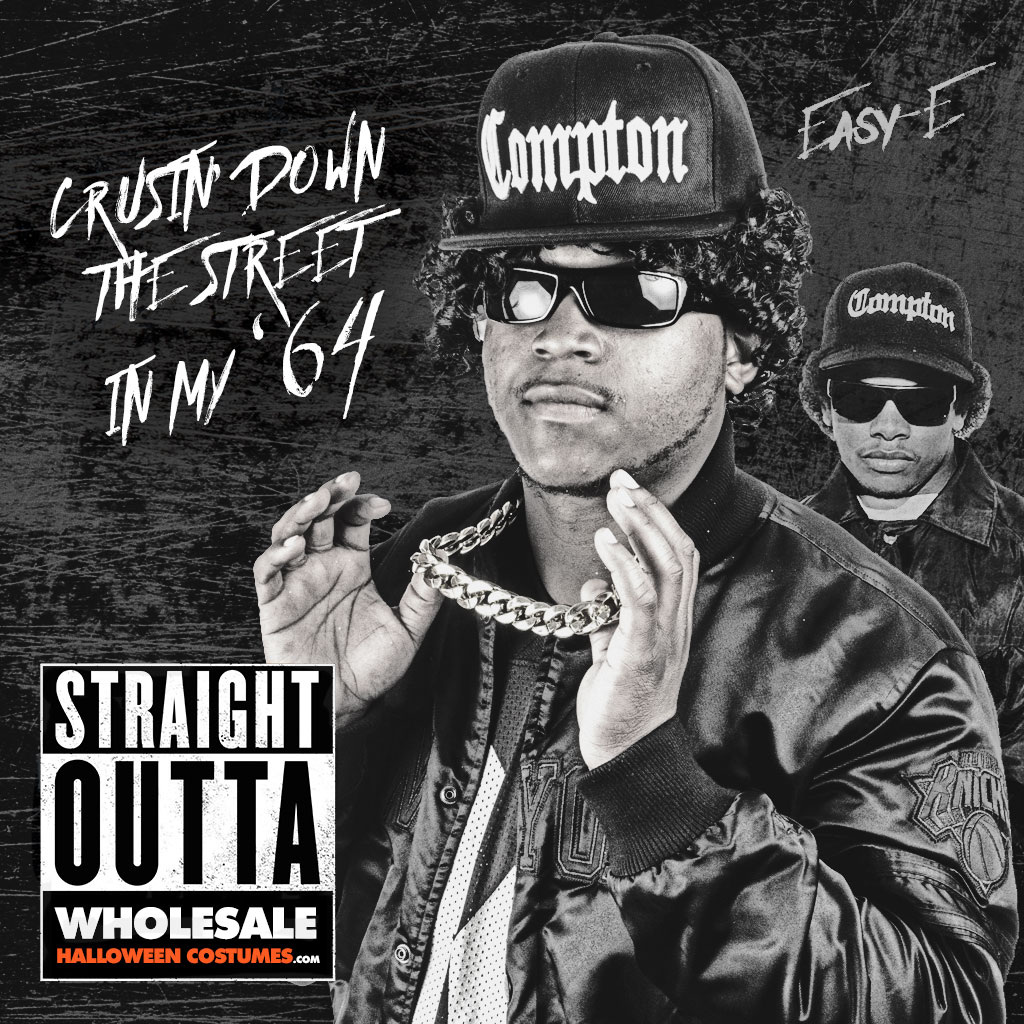 DIY Straight Outta Compton Costume | Wholesale Halloween Costumes Blog