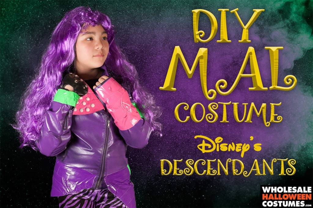 diy mal costume the descendants wholesale halloween costumes blog