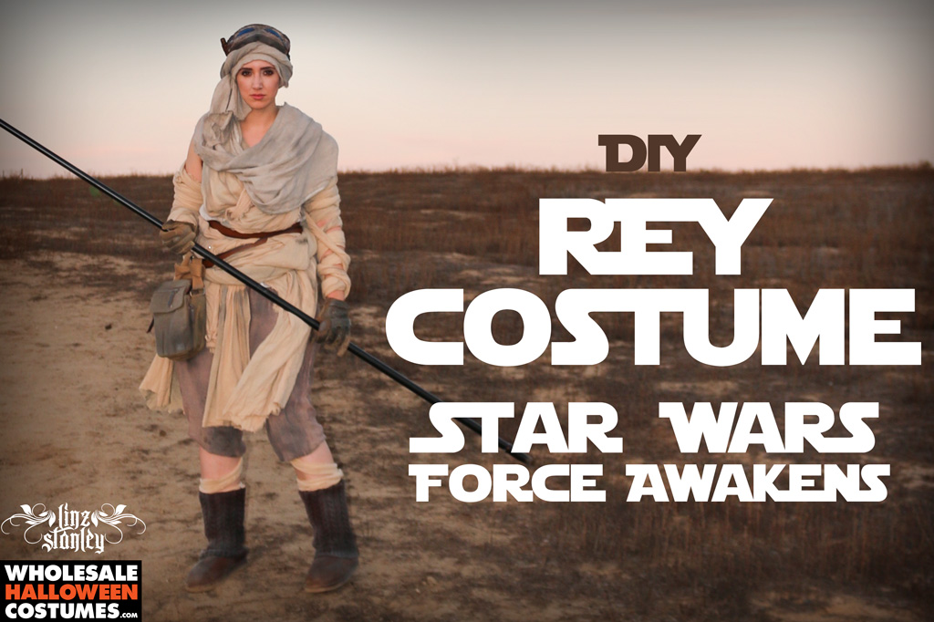Star Wars: The Force Awakens DIY Rey Costume | Wholesale Halloween ...