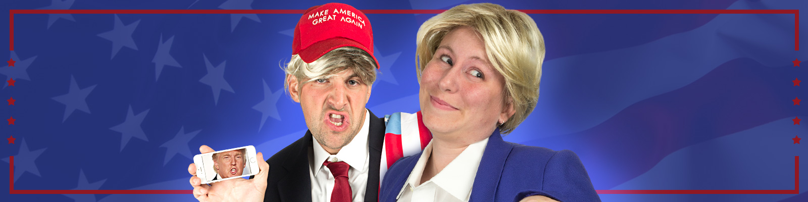DIY Hillary and Trump Costumes: The Front-Runners