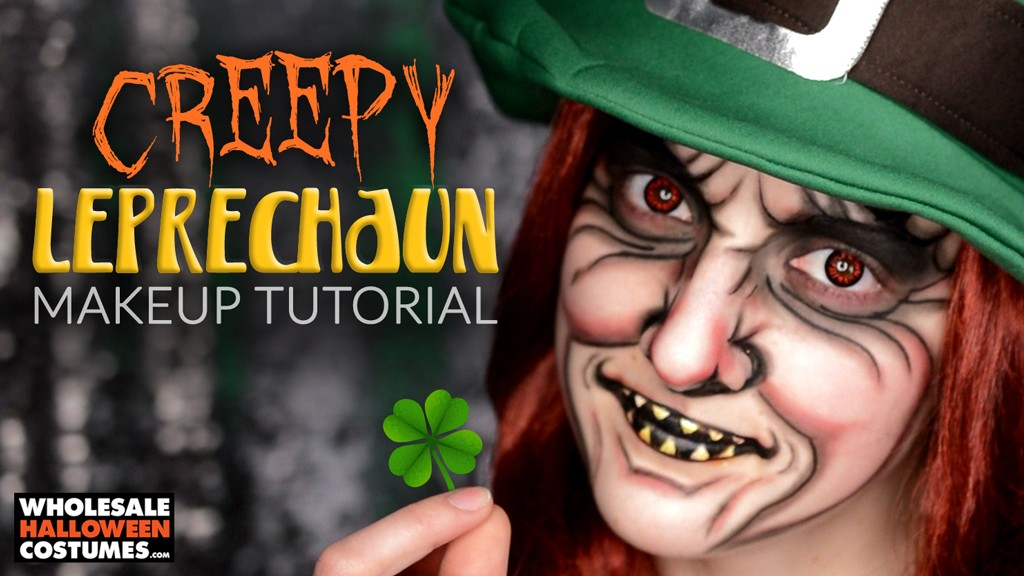 Leprechaun makeup tutorial for st patricks day wholesale leprechaun makeup tutorial for st patricks day wholesale halloween costumes blog solutioingenieria Choice Image