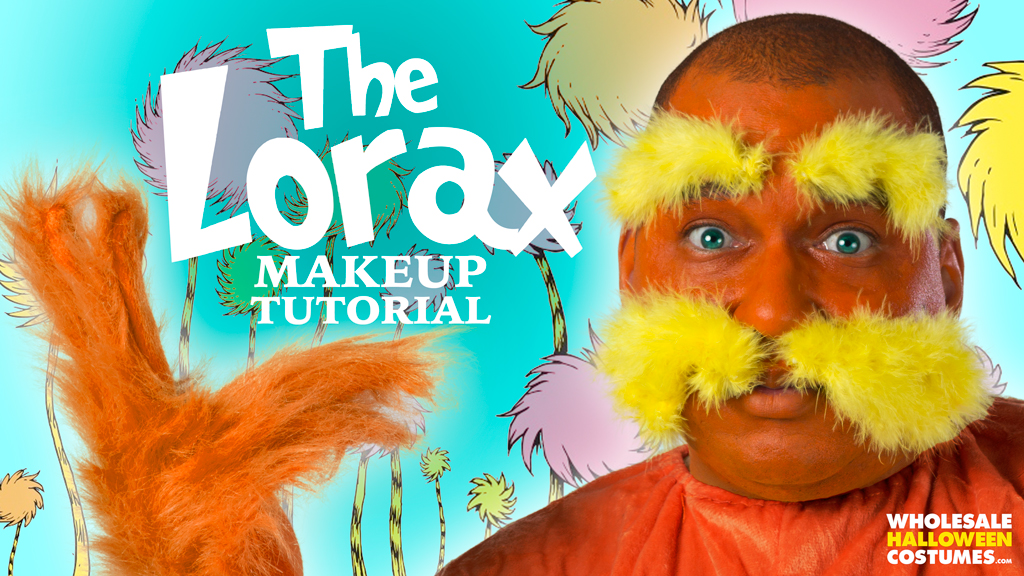 Lorax Makeup Tutorial for Read Across America | Wholesale ...