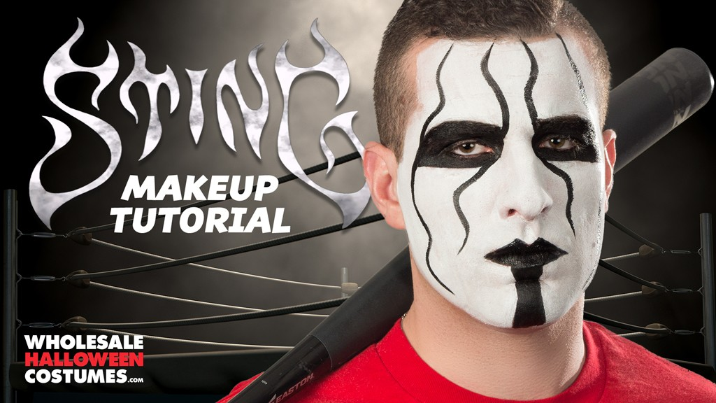 sting makeup tutorial wholesale halloween costumes blog