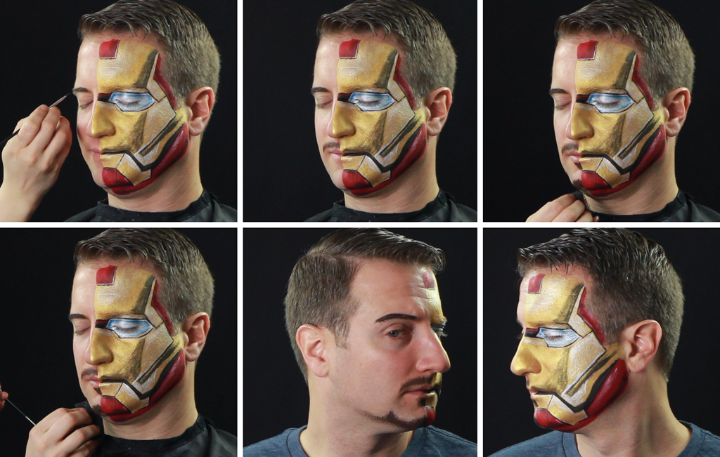 Iron Man Step 06