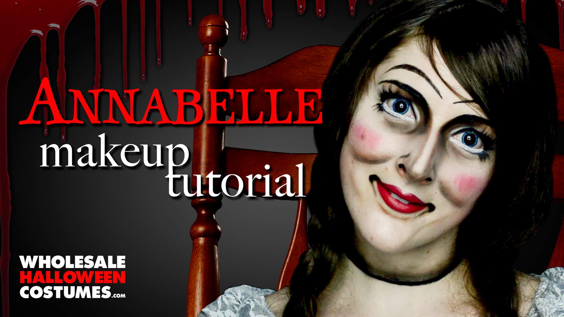 annabelle makeup tutorial wholesale halloween costumes blog