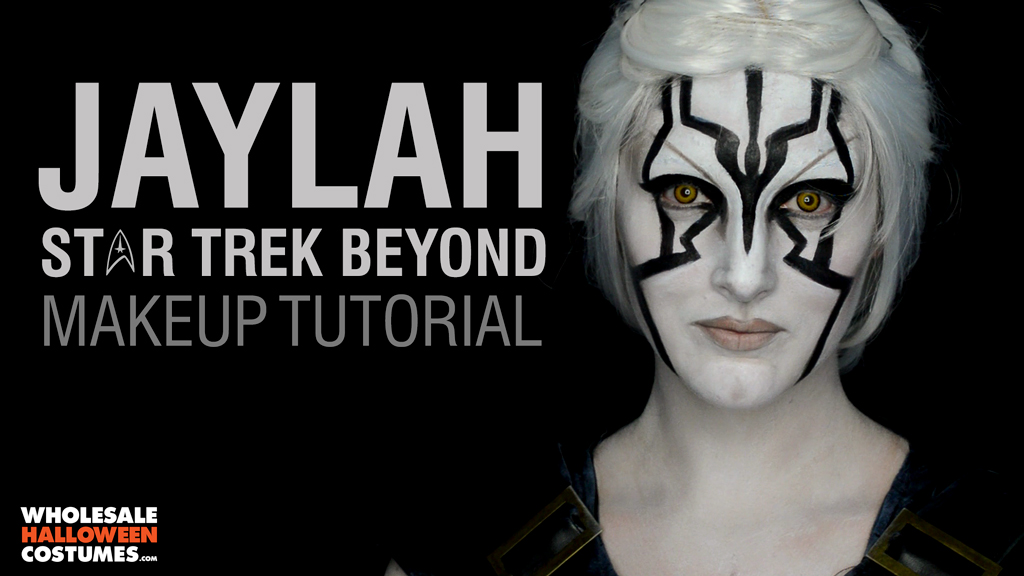 Star Trek Beyond - Jaylah Makeup Tutorial