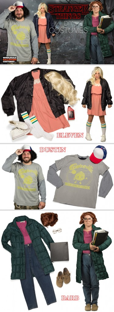 Stranger Things DIY Costumes Guide