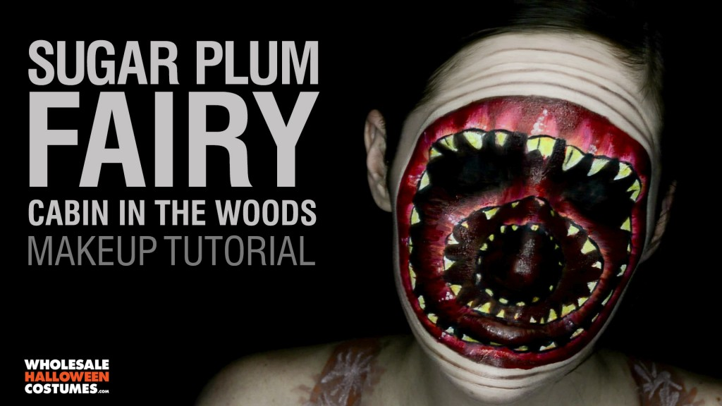 Cabin in the Woods Sugar Plum Fairy Makeup Tutorial ...