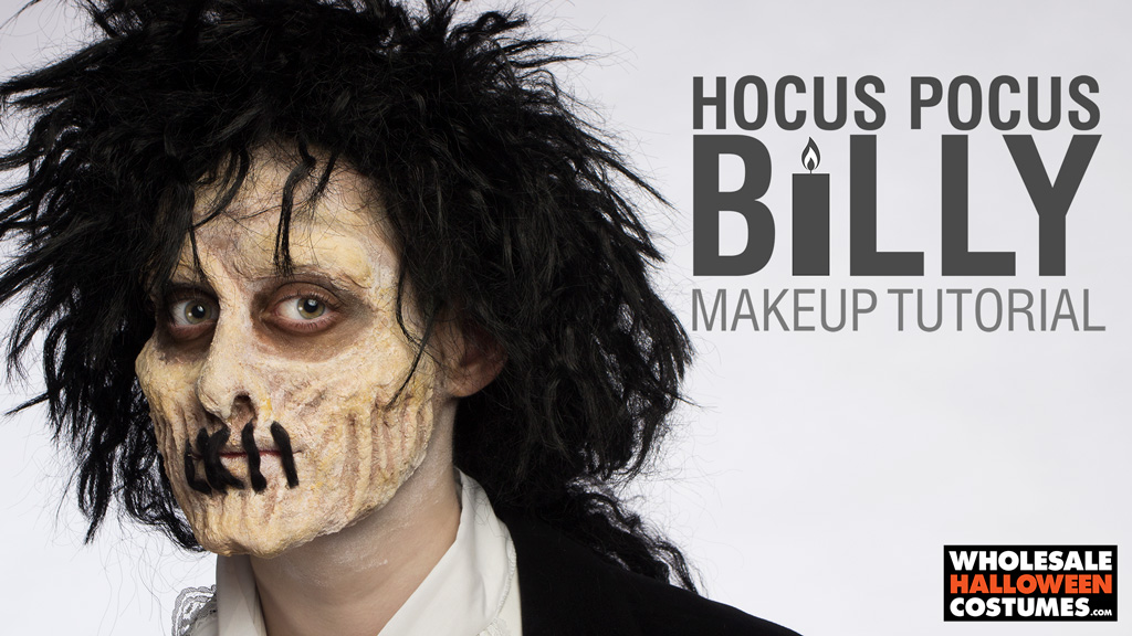 Billy from Hocus Pocus Makeup Tutorial