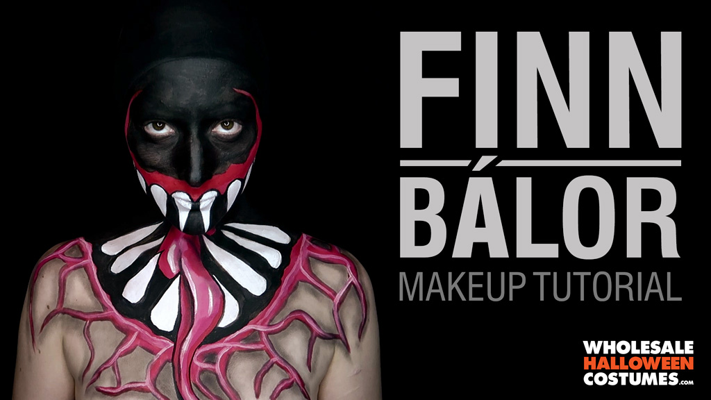Finn Bálor Makeup Tutorial