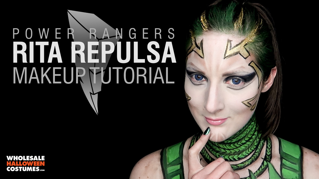Rita Repulsa Makeup Tutorial