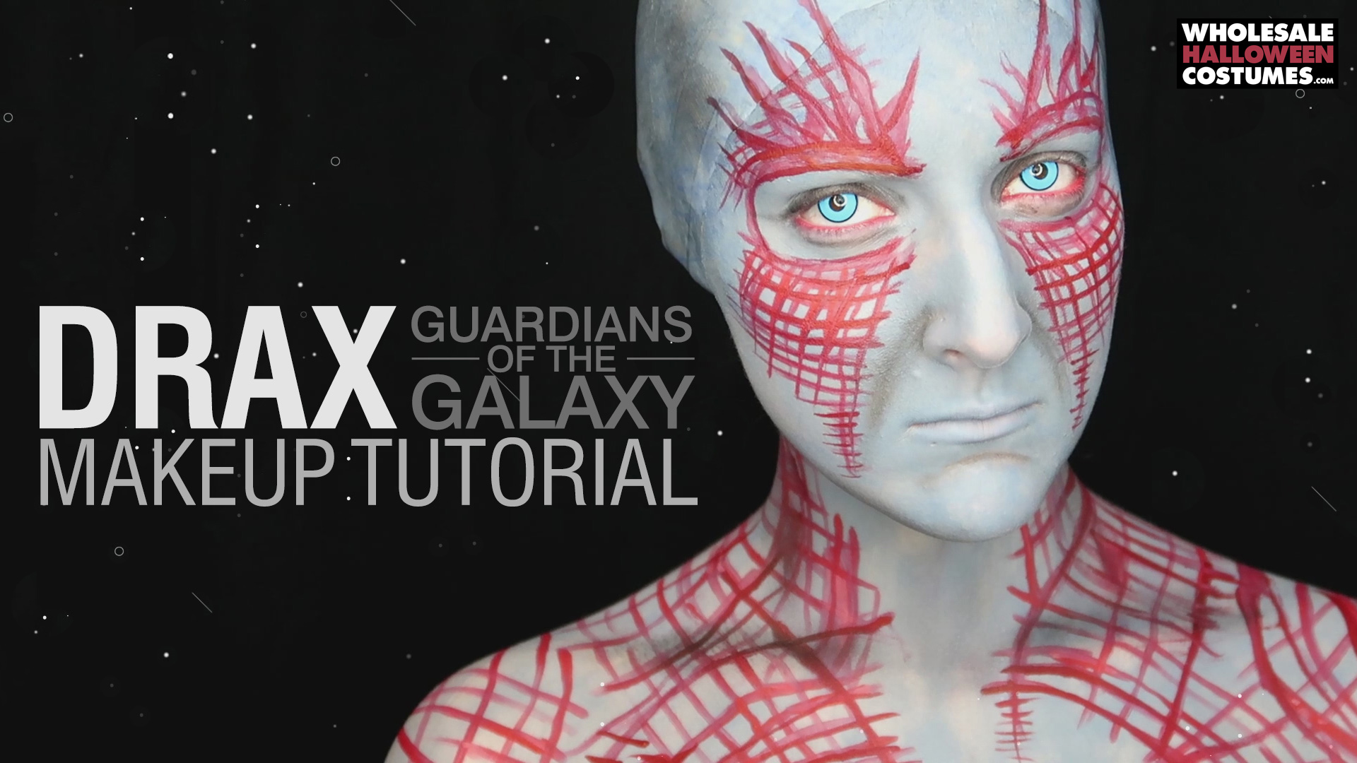 Drax Makeup Tutorial