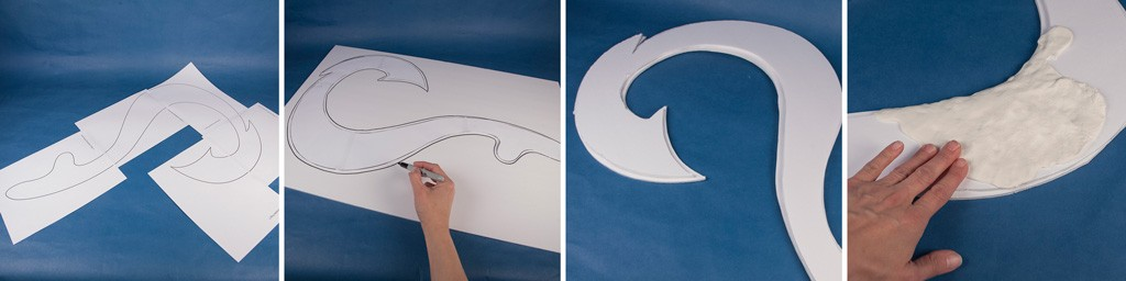 Disney's Moana Fish Hook Tutorial Step 1