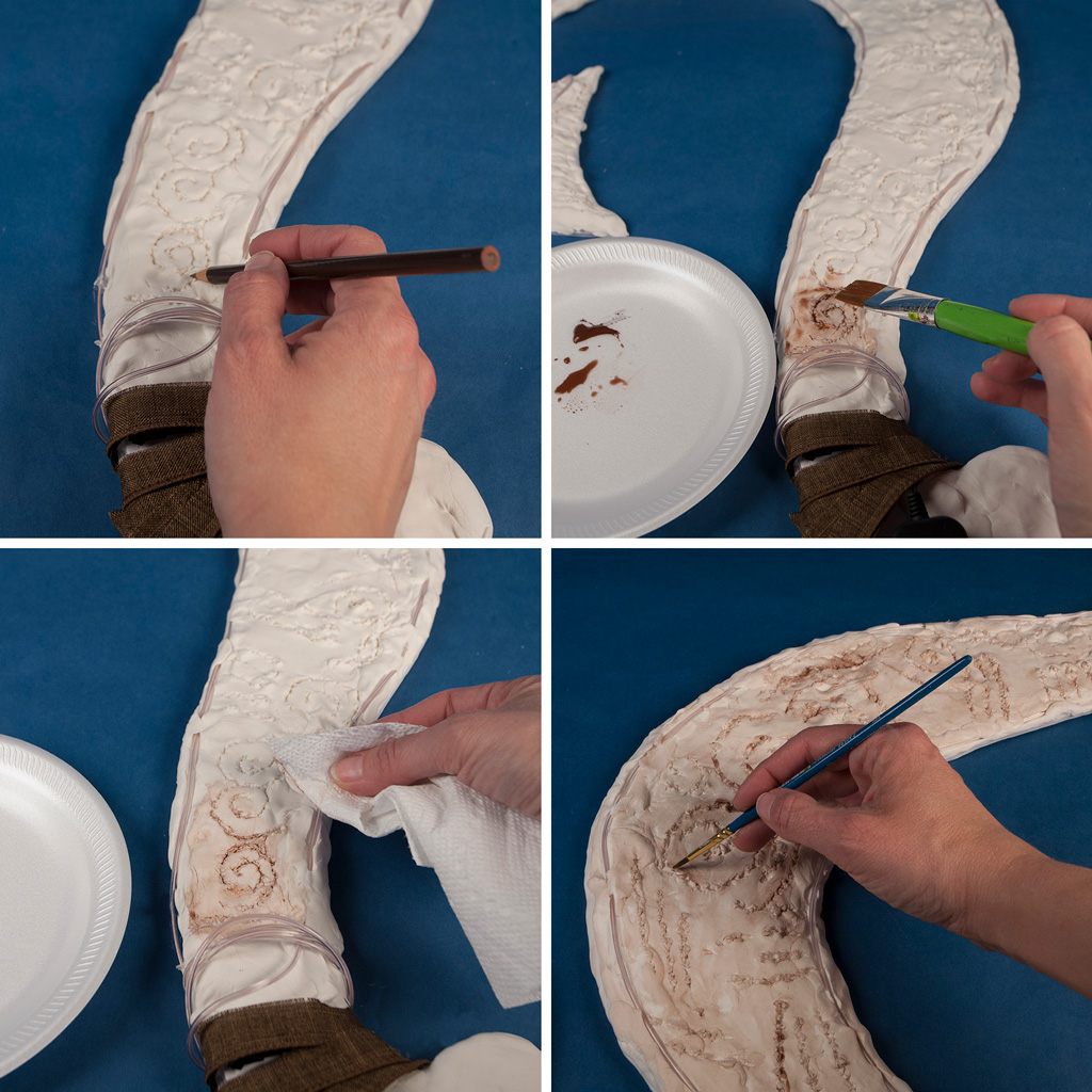 Disney's Moana Fish Hook Tutorial Step 4