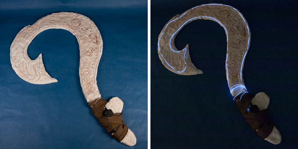 Disney's Moana Fish Hook Tutorial