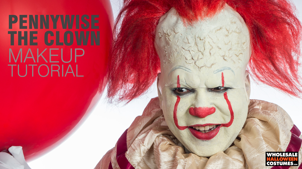 Pennywise the Clown Makeup Tutorial