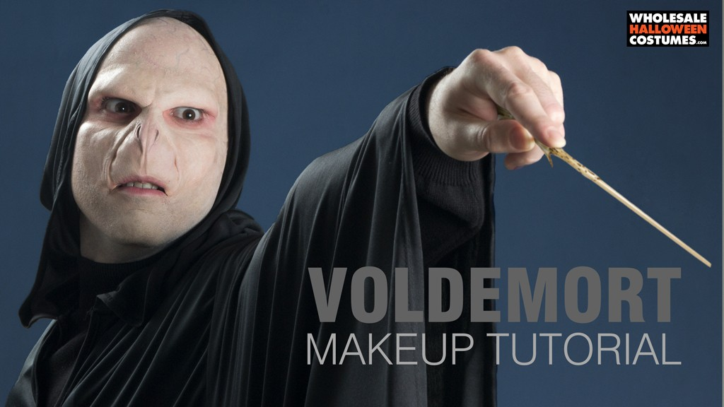 Voldemort Makeup Tutorial