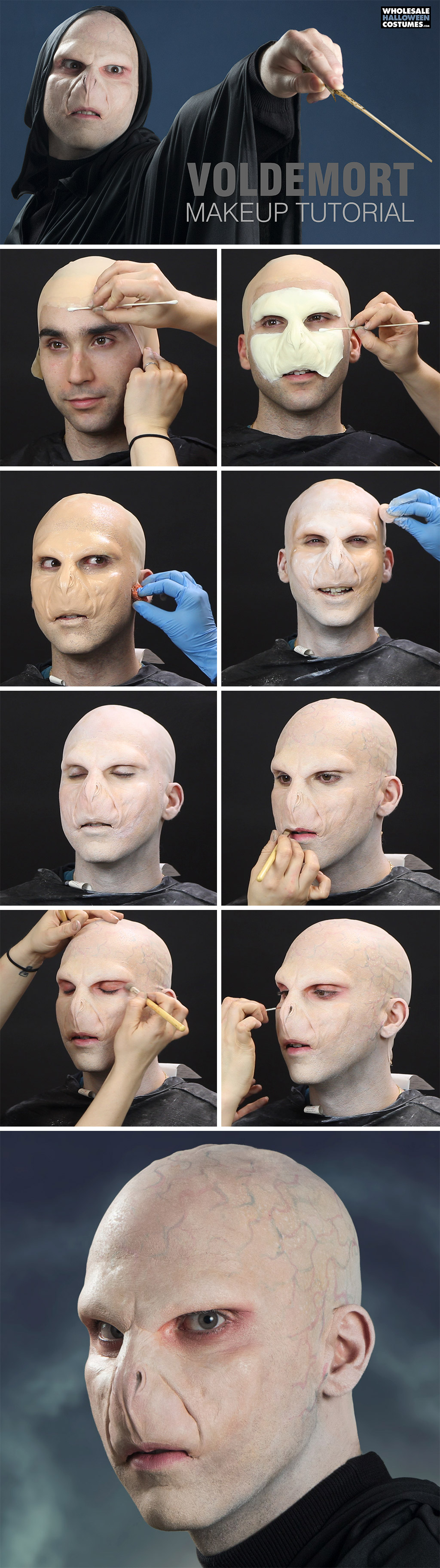 Harry potter voldemort makeup tutorial wholesale halloween harry potter voldemort makeup tutorial wholesale halloween costumes blog solutioingenieria