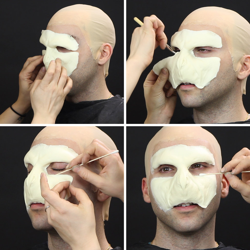 Harry potter voldemort makeup tutorial wholesale halloween voldemort makeup tutorial solutioingenieria Images