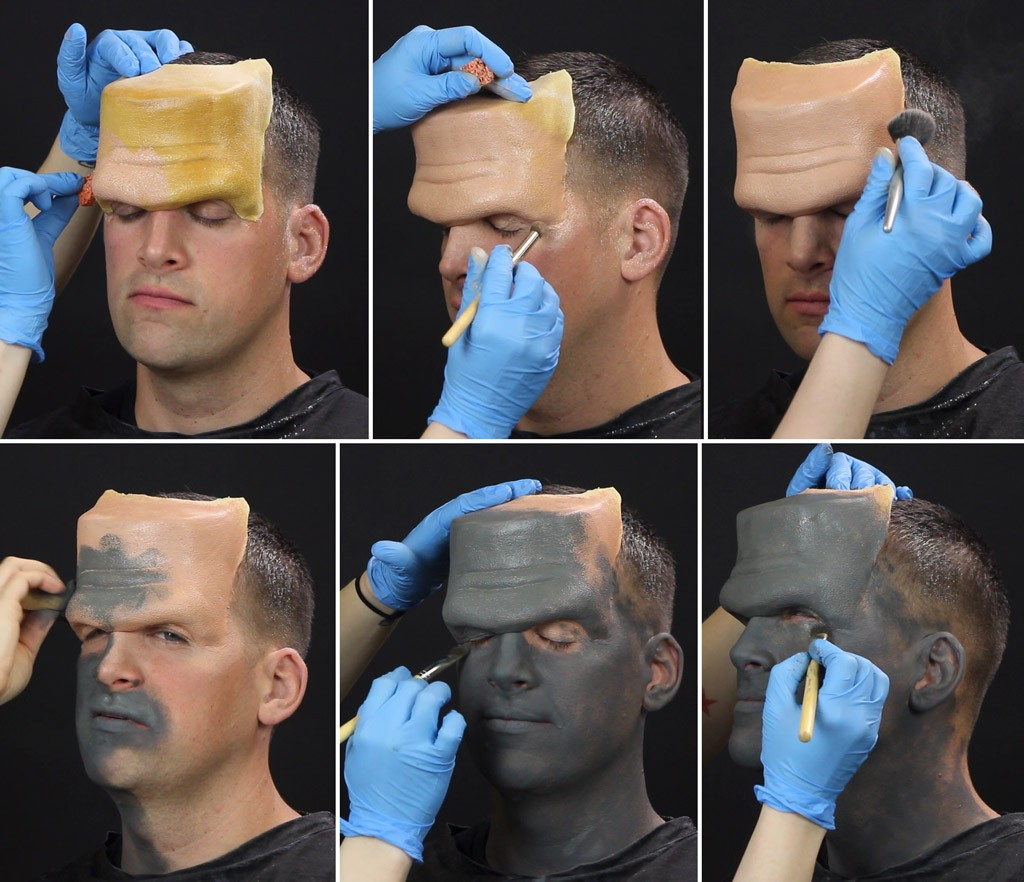 Frankenstein Makeup Tutorial Step 2