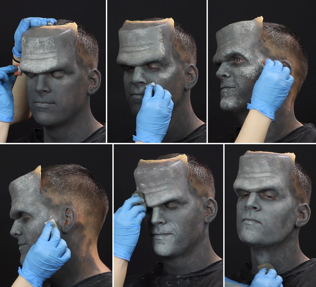Frankenstein Makeup Tutorial Step 3