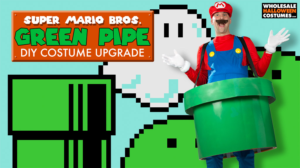 DIY Super Mario Pipe Costume
