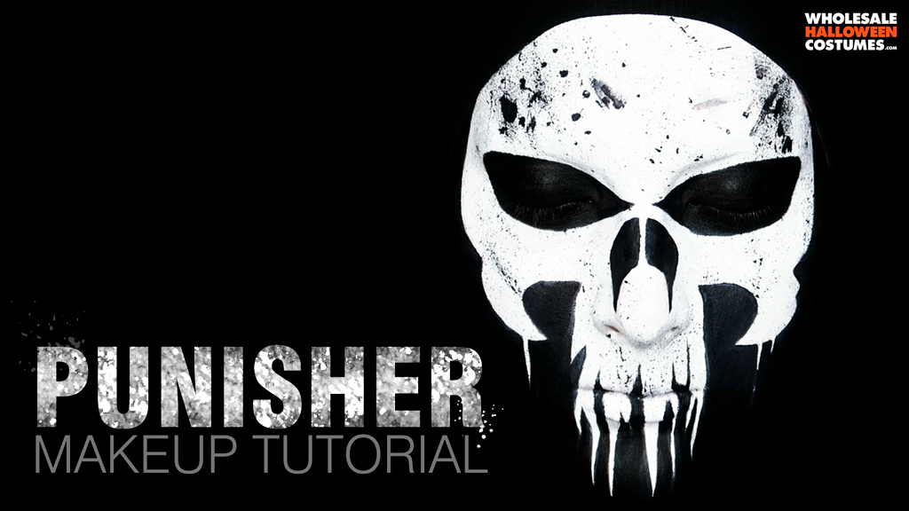 Punisher Inspired Makeup Tutorial