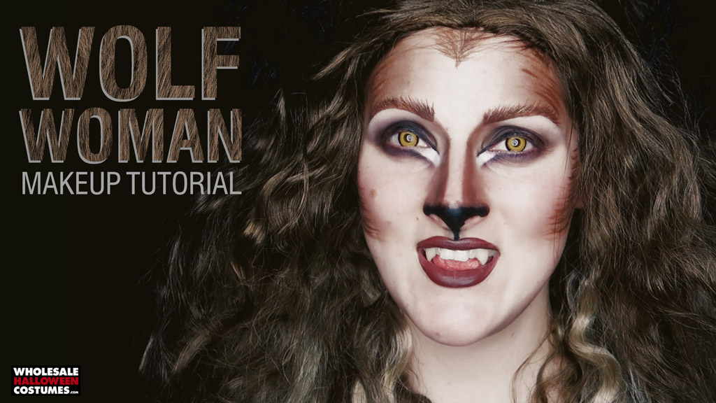 Glam werewolf makeup tutorial wholesale halloween costumes blog werewolf woman makeup tutorial solutioingenieria Choice Image