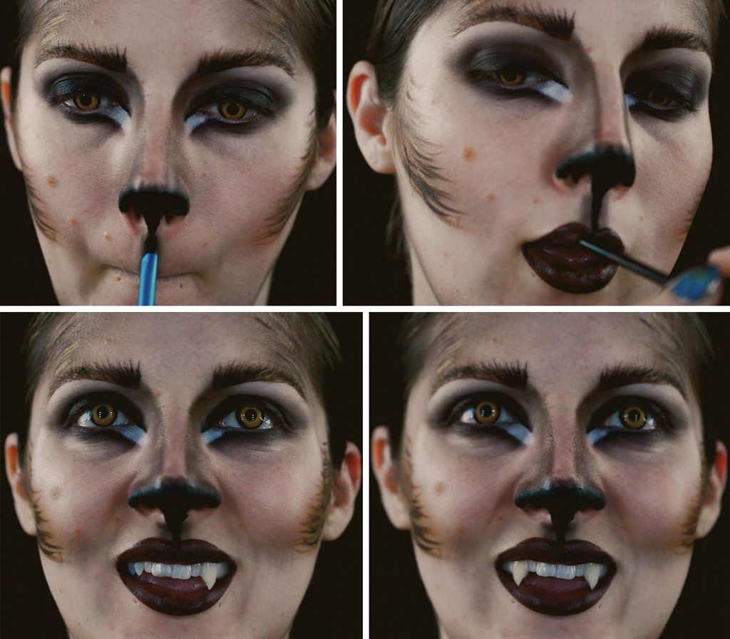 Werewolf Woman Makeup Tutorial Step 7