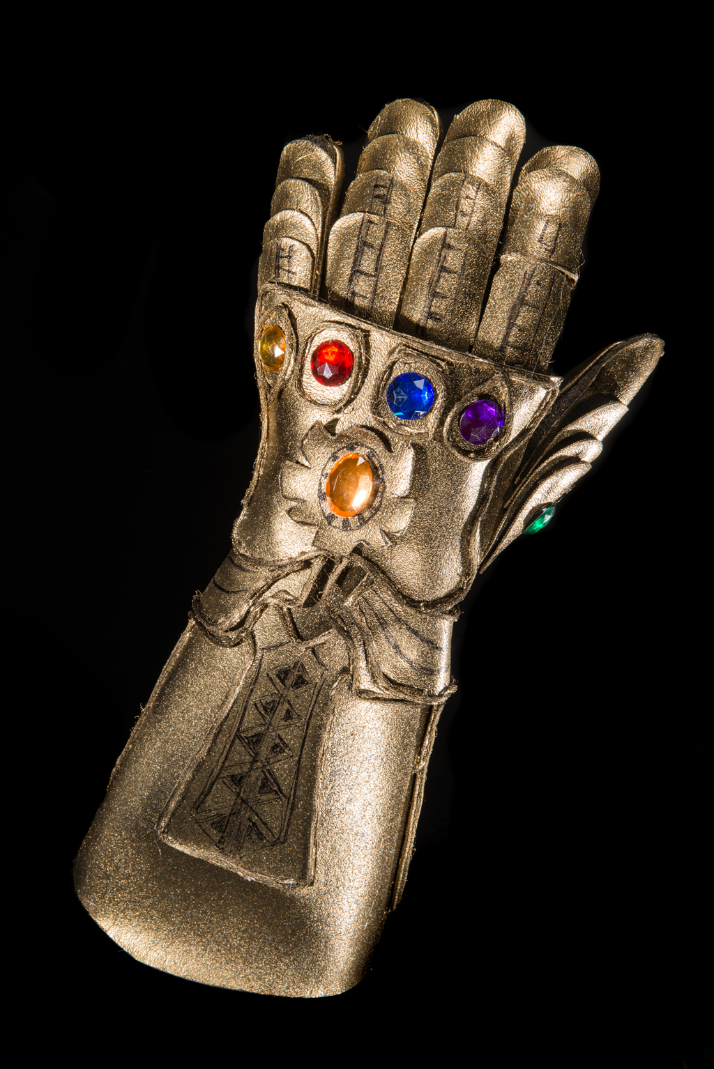 DIY Infinity Gauntlet Costume Upgrade Finished