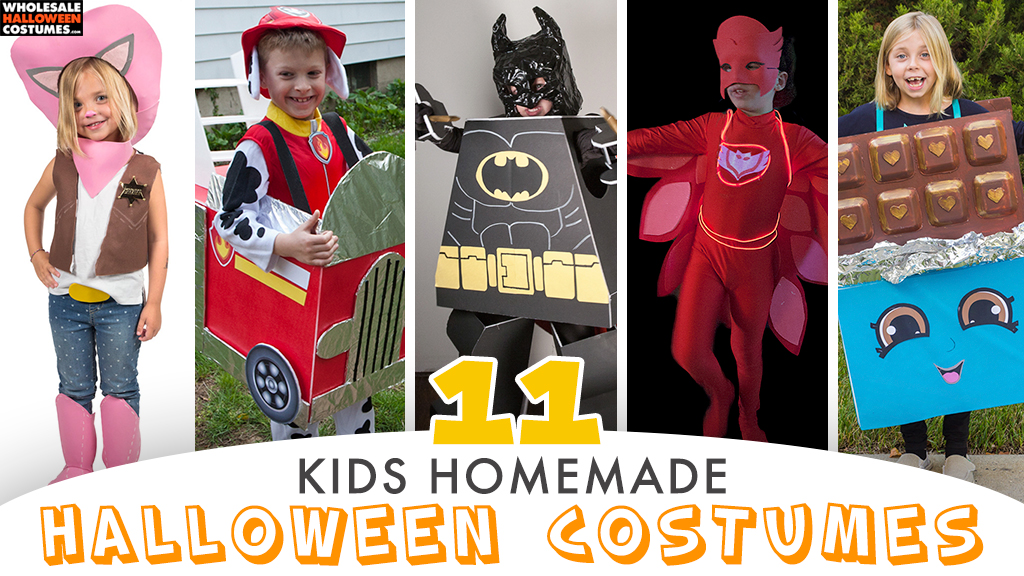 11 DIY Halloween Costumes for Kids