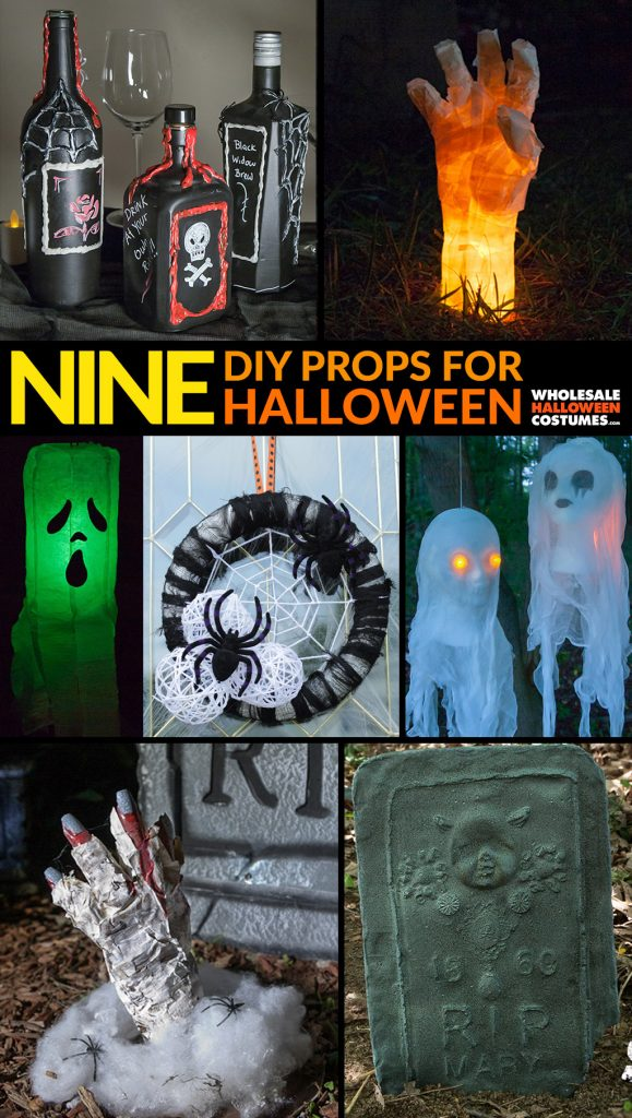 9 DIY Halloween Decorations