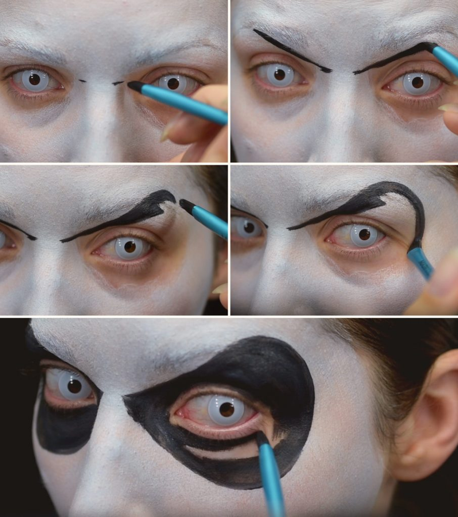 Jack Skellington Makeup Tutorial Step 3