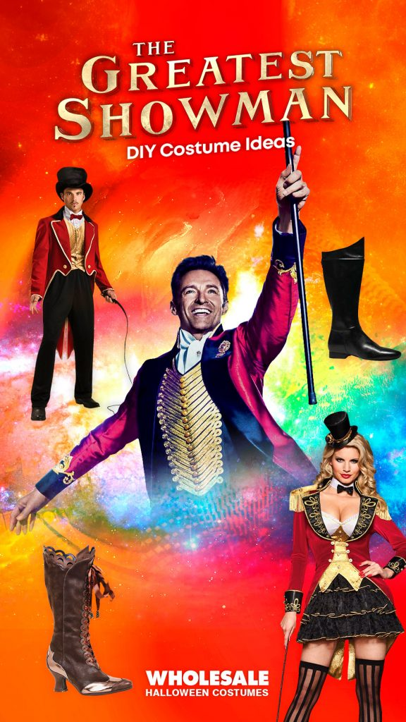 The Greatest Showman DIY Halloween Costumes Pinterest