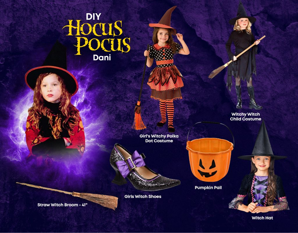 DIY Dani Hocus Pocus Costume Ideas