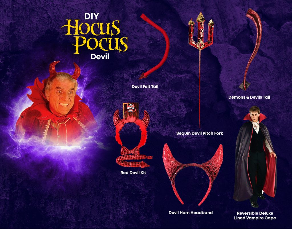 DIY Devil Hocus Pocus Costume Ideas