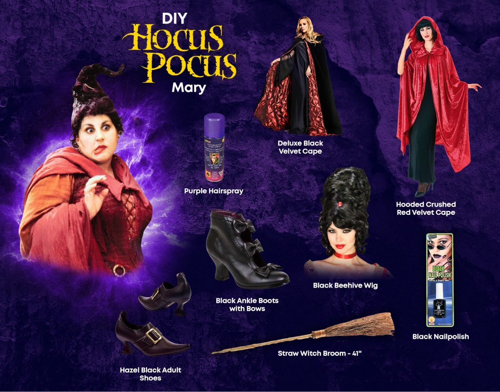 DIY Mary Hocus Pocus Costume Ideas