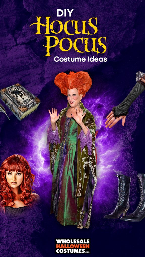 DIY Hocus Pocus Costume Ideas Pinterest