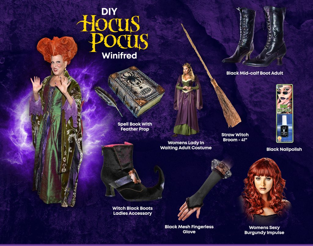 DIY Winifred Hocus Pocus Costume Ideas